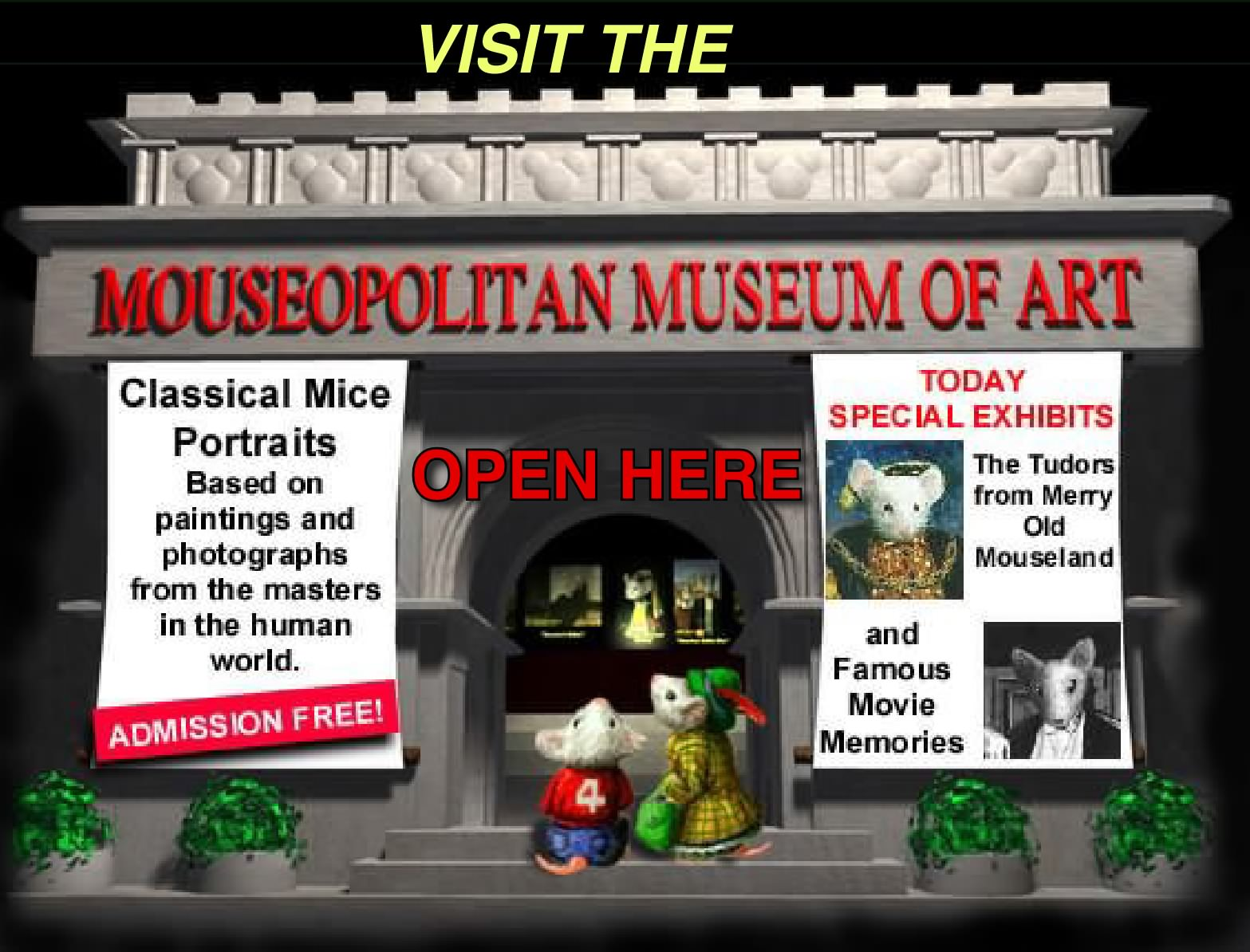 Mouseopolitan Museum of Art by Alan F. Beck