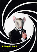 James Mouse Bond art by Alan F. Beck