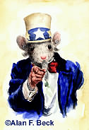 Uncle Mouse Wants You art by Alan F. Beck