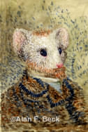 Vincent Van Mouse art by Alan F. Beck
